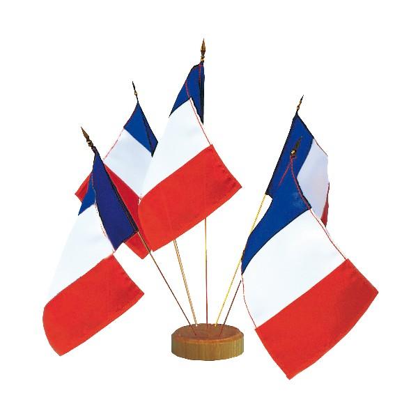 France Drapeau De Table Festa