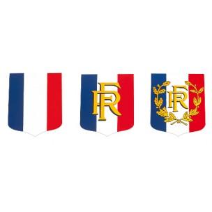 Écussons porte-drapeaux