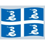 Martinique-Historique (drapeau)