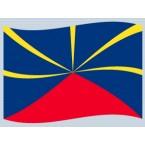 La Réunion-Historique (drapeau)
